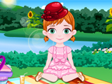 Baby Anna Picnic Day