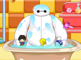 Baymax Take A Shower